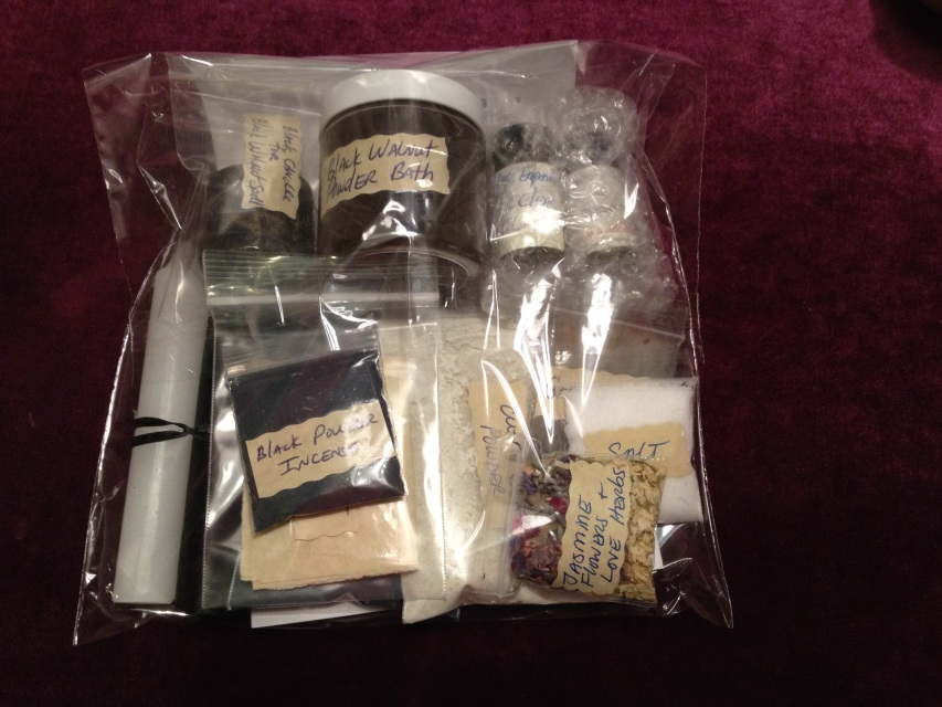 13 Day Uncrossing Spell Kit Hoodoo Voodoo Magick